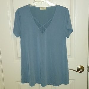 Ginger G women's knit shirt, Size L